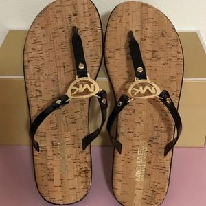 Michael Kors Shoes - Mk jelly cork sandals